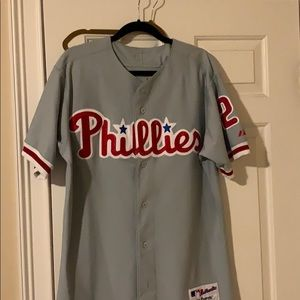 Chase Utley - Phillies Jersey